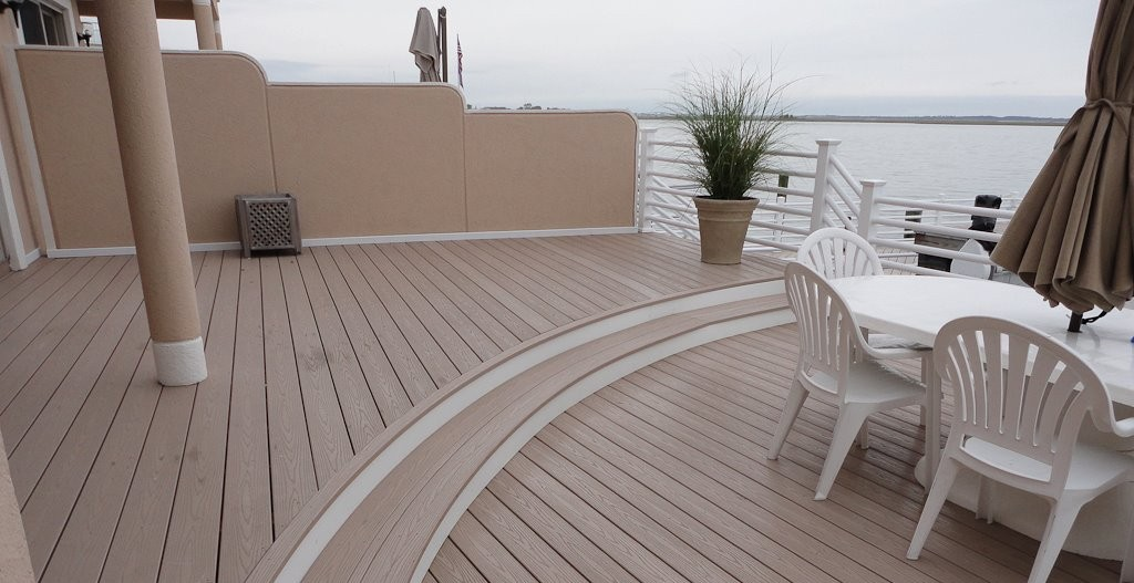 decks and railings by all vinyl fence