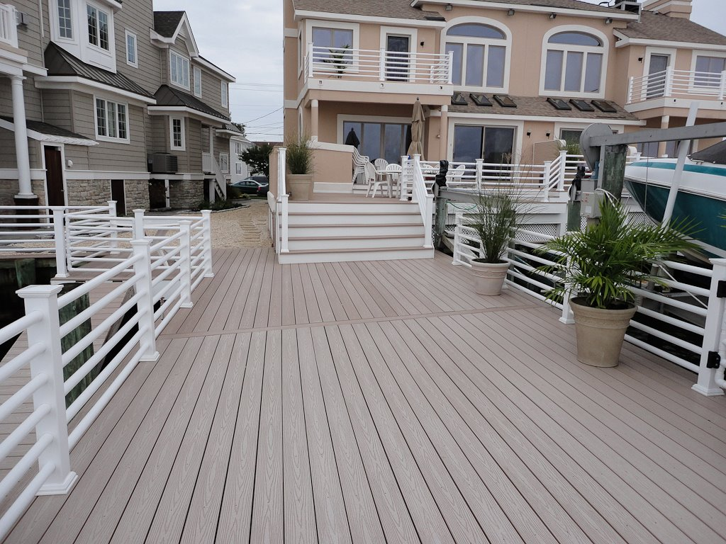 decks-railings by all vinyl fence